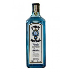 BOMBAY SAPPHIRE DRY GIN CL.100